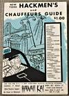 image of New York Hackmen's and Chauffeur's Guide