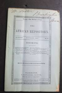 THE AFRICAN REPOSITORY