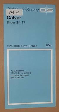 Calver. 1:25000 First Series Map Sheet SK 27