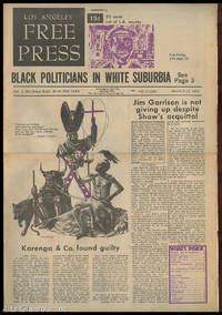 LOS ANGELES FREE PRESS; Black Politicians In White Suburbia [Headline] by  Arthur (Ed.) Kunkin - 1969 - from Alta-Glamour Inc. and Biblio.com