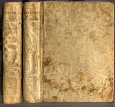 Rome: Benedictum Francesi, 1779. Early Edition. Hardcover (Vellum). Very Good Condition. 2 volumes i...