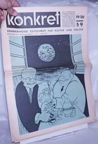 image of Koncret, 1959, Aug, Nos. 19-20 (combined issued) Unabhängige Zeitschrift Für Kulture und Politik