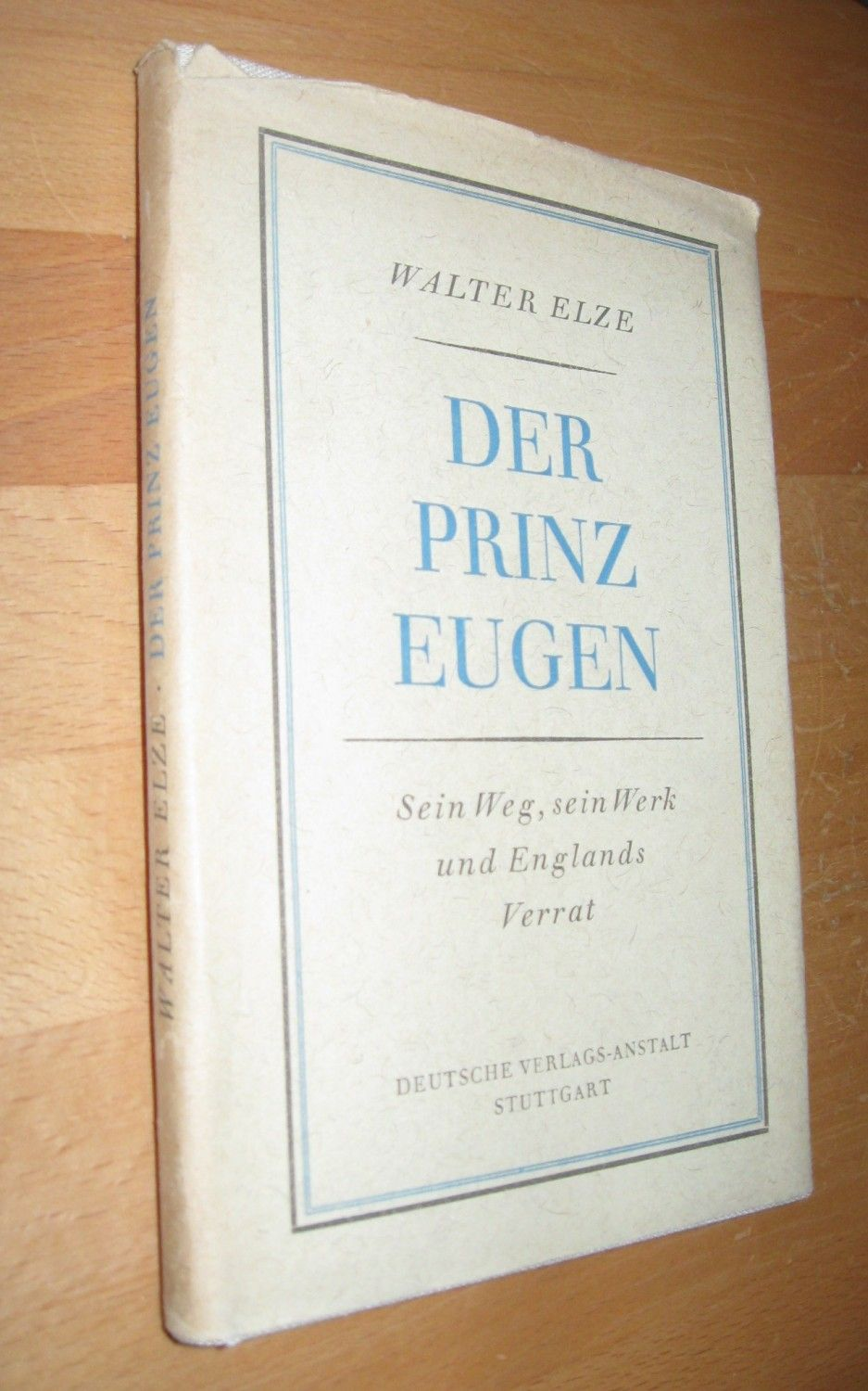 der prinz eugen by walter elze 1940 from gerd suelmann. Black Bedroom Furniture Sets. Home Design Ideas