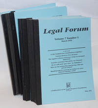 Legal forum [23 issues]