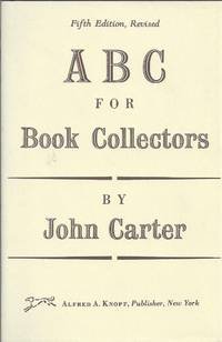 ABC For Book-collectors by  John Carter - Hardcover - 1992 - from Pilgrims Rare Books (SKU: 34159)