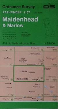 Maidenhead & Marlow Pathfinder map sheet 1157 by Ordnance Survey - 1993 - from Acanthophyllum Books and Biblio.com