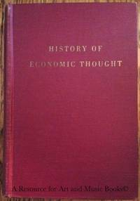 HISTORY OF ECONOMIC THOUGHT.