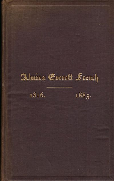 . First Edition. A memorial by the family, who are from the Dedham, Massachusetts area. Signed prese...