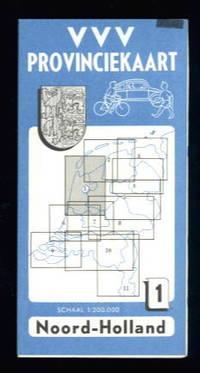 VVV Provinciekaart 1: Noord Holland by Illustra - from Lazy Letters Books (SKU: 11663)