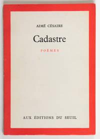 Cadastre, poèmes