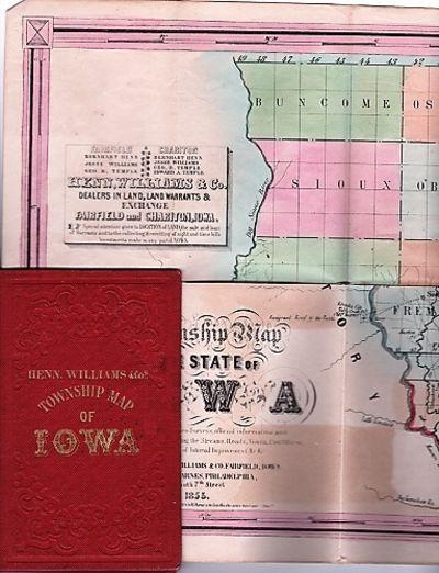 Fairfield, Iowa / Philadelphia: Henn, Williams & Co. / R.L. Barnes, 1855. First Edition. Hardcover. ...