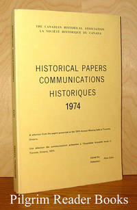 Historical Papers Communications Historiques; Toronto 1974