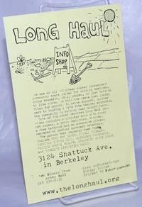 image of Long Haul Infoshop [handbill]