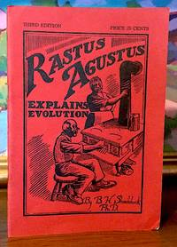Rastus Augustus Explains Evolution. [ Front and rear covers Illustrated by F. W. Alden ]