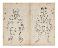 """Manuscript on paper, entitled on the label of the upper cover """"Kyuketsu tekiyo"""" [""""Acupuncture Pressure Points, Suitable & Precise Usage""""] by ACUPUNCTURE MANUAL - from Jonathan A. Hill, Bookseller, Inc. (SKU: 7073)"""