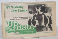 image of San Diego Update: vol. 1, #24, February 8, 1980: NY Sodomy Law Overturned!