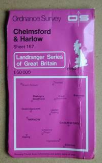 Ordnance Survey Map. Chelmsford & Harlow. Sheet 167.