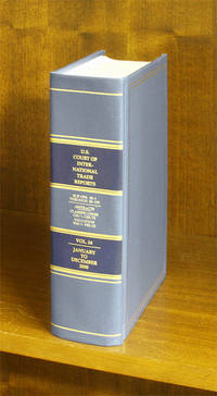 United States Court of International Trade Reports. Volume 24 (2000)