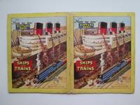 image of My make my own picture book of ships and trains