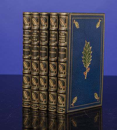 London: Chapman & Hall, 1843. A Superb First Edition Set of The Charles Dickens Christmas Books Beau...