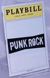 image of Playbill: Lucille Lortel Theatre; Punk Rock November 2014