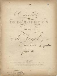Ouverture de Demophoon [!Démophon]... Arrangée [en quatuor prix 3]. [Parts]