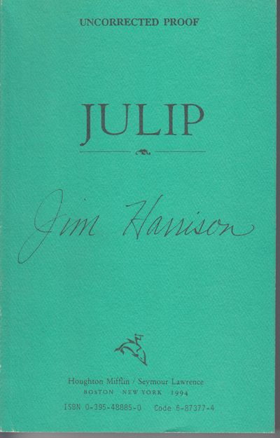 Boston: Houghton Mifflin. 1994. First Edition; First Printing. Softcover. Wraps, advance uncorrected...