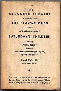 (No Place): American Broadcasting Company, 1952. Softcover. Near Fine. First edition thus. Televisio...
