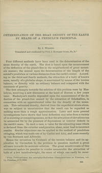 Washington : Smithsonian Institution, 1890. Offprint. Paper wrappers. A very good copy in a plain pa...