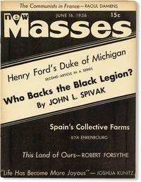 New Masses - Vol.XIX, No.12 (June 16, 1936)