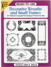image of Ready to Use Decorative Wreaths and Small Frames (Clip Art (Dover))