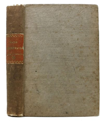 Bruxelles: Meline, Cans et Compagnie, 1837. Early edition. Original publisher's linen cloth binding ...