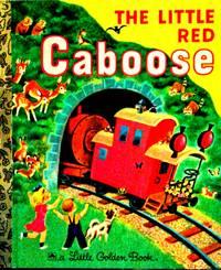 A little Golden Book THE LITTLE RED Caboose