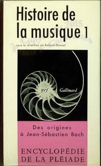 Histoire de la musique, des origines à Jean-Sébastien Bach.