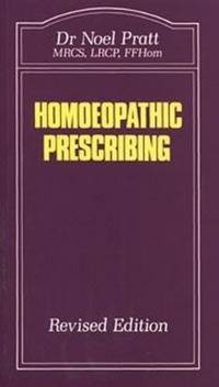 HOMOEOPATHIC PRESCRIBING