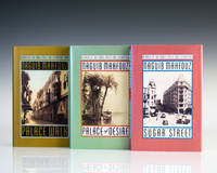 The Cairo Trilogy: Palace Walk, Palace of Desire, Sugar Street. by  Naguib Mahfouz - Signed First Edition - 1990-1992 - from Raptis Rare Books (SKU: 274)