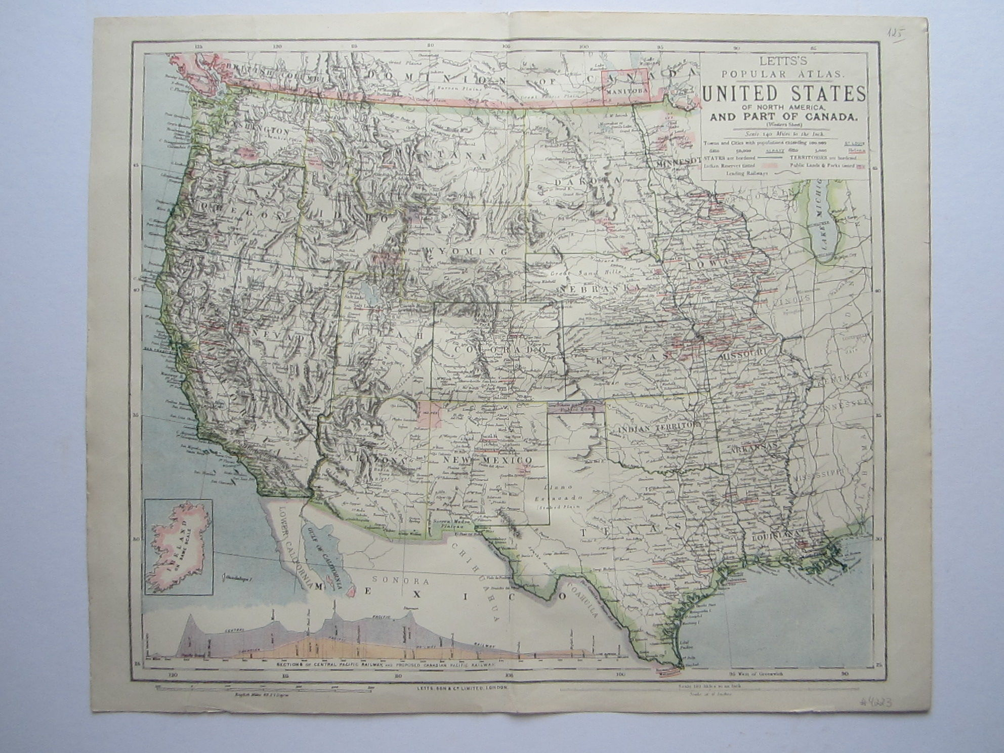 United States of North America, and Part of Canada (photo 1)