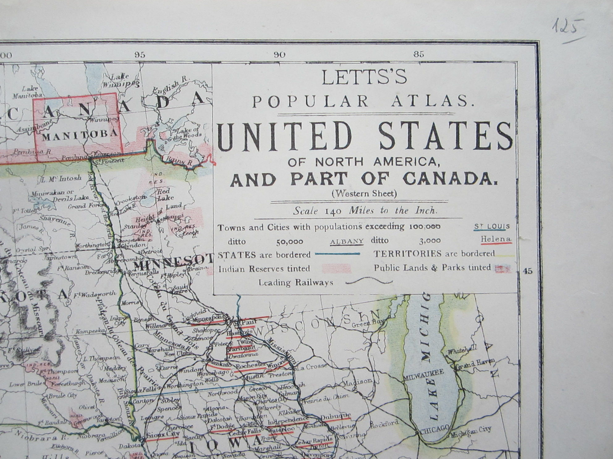 United States of North America, and Part of Canada (photo 2)