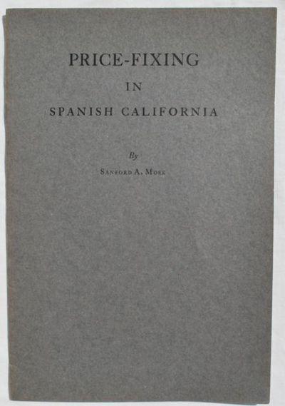 Califonia Historical Society,, 1938. Reprint. Paperback. Like New. Reprinted from California Histori...
