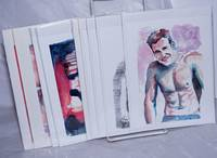 Collection of Gay Male Art Cards [9 cards]