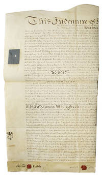 Manuscript indenture between Richard Stiles and Richard Davis related to land tenure