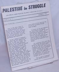image of Palestine in struggle [two issues: Vol. 1 nos. 1 and 5]