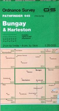 Bungay & Harleston Pathfinder map sheet 945
