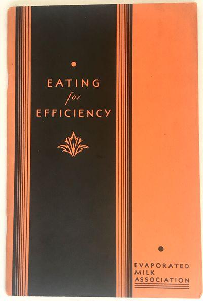 Chicago: Evaporated Milk Association, 1932. Revised Edition. Staplebound. Orange and black wraps. Ne...