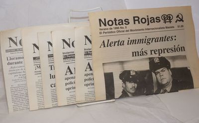 Los Angeles: Moaist International Movement, 2004. Newspaper. Seven issues, 8pp., in Spanish, of this...