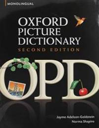 OPD 2e Monolingual English Dictionary and Low Beginning Workbook Bundle (Oxford Picture...