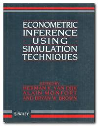 image of Econometric Inference Using Simulation Techniques