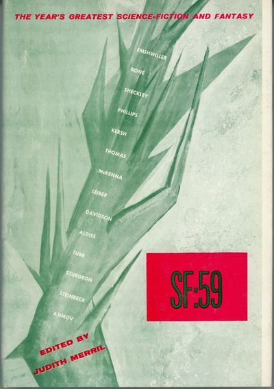 Hicksville, New York: Gnome Press, 1959. Octavo, green boards with spine panel lettered in black. Fi...