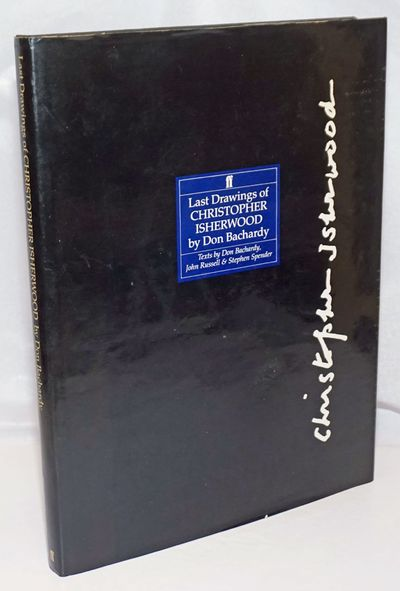 London: Faber and Faber, 1990. Hardcover. xviii, 123p., 10x13 inches, monofraph of sketches of Isher...