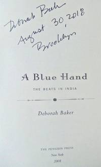 A Blue Hand (SIGNED, DATED, BROOKLYN)